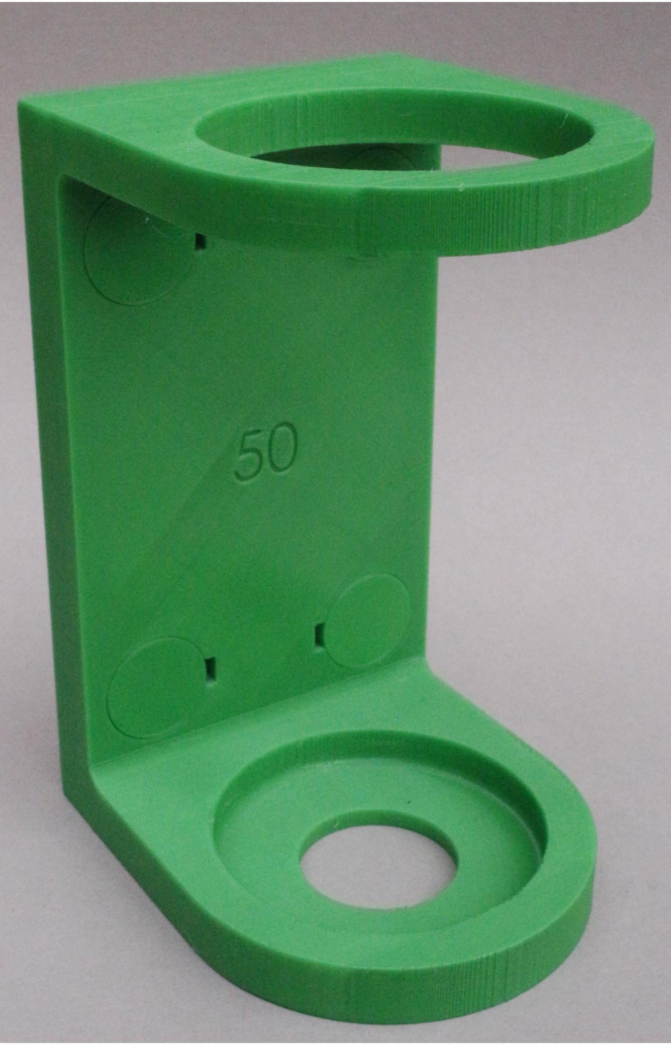 Jagd Halter für den Waffenschrank Schalldämpfer 55mm Magnet Halterung